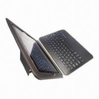 Buy cheap Auto-sleep Leather Case, with Keyboard, OEM Colors are welcome from wholesalers