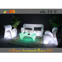 Wholesale LED illuminated Bar Club LED Sofas / Glowing Furniture For Party from china suppliers