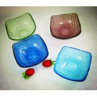 Wholesale Handblown glass bowls / glass dishes / Handblown glass paltes DJ-12003 from china suppliers