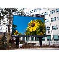 Wholesale Pixel Pitch 5mm IP65 Large outdoor advertising display screens For Buiding Decoration from china suppliers