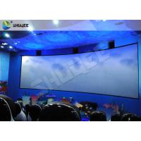 Wholesale Specific Design 5D Cinema System With Red Black Motion Chairs In High Synchronized Performance from china suppliers