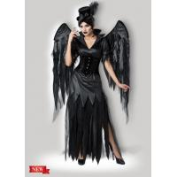 Wholesale Midnight Raven 1138 Black Party Adult Costumes , Sexy Carnival Cosplay Halloween Costume from china suppliers