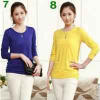 Wholesale Women's Base Shirt, 12 nice Colors ! really Comfortable to wear ! retail and Wholesale ! from china suppliers