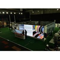 Quality Stage HD Rent Led Advertising Screen Foldable , Led Curtain Video Wall High Refresh Rate for sale