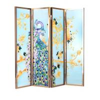 Wholesale Unique Movable Decorative Glass Partition , Crystal Line Texture Color from china suppliers