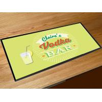Buy cheap Comfortable Plastic / Rubber Bar Mats Anti Slip With CMYK Sublimation Printing from wholesalers