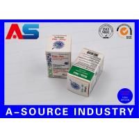 Wholesale Medical Science Carton Box 10ml Vial Boxes CMYK Regular Printing Glossy Box from china suppliers