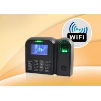 Wholesale Touch Screen Fingerprint Time Attendance System With Check In / Out from china suppliers