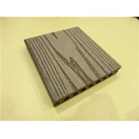 Quality Embossing Galling WPC Composite Decking Solid PVC Plastic Deckings for sale