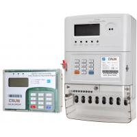 Wholesale Three Phase Prepaid Electricity Meters , Plc Rf Commercial Electric Meter from china suppliers