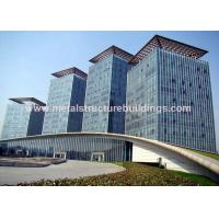 Safe Galvanized Prefabricated Steel Structures For Infrastructure Building