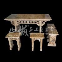 Wholesale Natural Stone Home Decoration Indoor/Outdoor Table Set from china suppliers