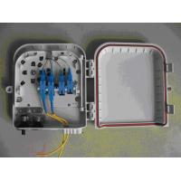 Wholesale Plastic Optic Fiber Distribution Box 8 Port For FTTH / CATV from china suppliers