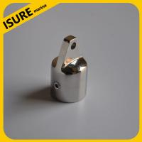 Quality stainless steel boat top cap jaw railing hand rail fitting cleat for sale