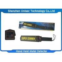 Buy cheap Factory Price Portable Scanner Hand Held Metal Detector MD3003B1 from wholesalers