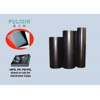 Wholesale Polymer Black Printing Plastic Sheets Polystyrene Sheet Roll With Low Density from china suppliers