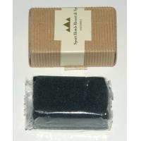 Wholesale Logo printing square Shoe shine care sponge for hotel, resturant, spa Shoe Shine Kit from china suppliers