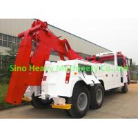 Wholesale 20 ton Manual HOWO Wrecker Tow Truck , Tow Truck Wrecker ST5381TQZCZ from china suppliers