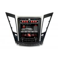 Wholesale Car Radio Multimedia , dvd gps car stereo Tesla Vertical Screen Sonata i50 i45 i40 2013 from china suppliers