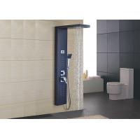 Wholesale Black Stainless Steel Wall Mount Shower Panel Hydromassage Design ROVATE from china suppliers