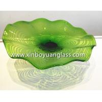 Wholesale Hand Blown Glass Wall Art Wall Platters Wall Plates from china suppliers