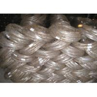 Electro Hot Dipped Galvanized Iron Wire For Building Material ISO9001 Approval