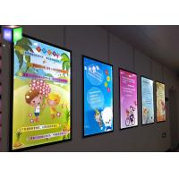 Wholesale Super Slim 15 mm LED Advertising Light Box Wall Acrylic Magnetic Photo Frame from china suppliers