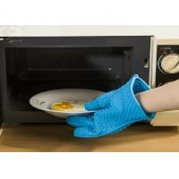 Wholesale Household Silicone Oven Gloves For Cooking , High Temperature Resistant from china suppliers