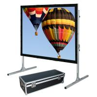 Wholesale Outdoor Folding Roll Up fast fold projection screen For Cinema from china suppliers