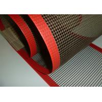 Wholesale High Strength Glass Fiber Woven Fabric PTFE Mesh / Teflon Mesh Screen from china suppliers