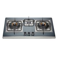Wholesale Three Burner LPG Gas Hob With Silver Stainless Steel Panel For Home Kitchen from china suppliers