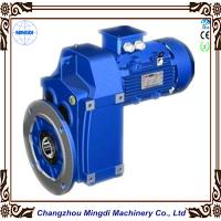 Wholesale 0.12-200KW F Series Helical Bevel Parallel Shaft Mounted Gearbox Max 18000RPM 58-62 HRC from china suppliers