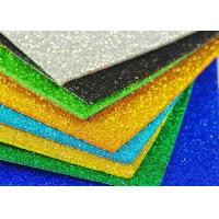 Wholesale Colorful Craft Glitter EVA Foam Sheet Thin EVA Paper For Kids DIY Cutting from china suppliers