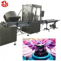 Wholesale Automatic Aerosol Filling Machine / Assembly Line For Rubber Paint Spray from china suppliers