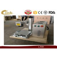 Wholesale 20W 30W 50W Mini Fiber Laser Marking Machine Laser Engraving Machine For Plastic from china suppliers