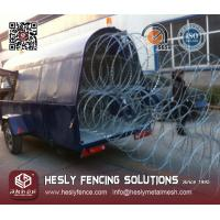 Wholesale Razor Wire Rapid Deployment Barrier System / Razor Wire Mobile Security Barrier System from china suppliers