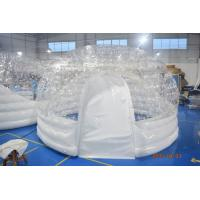 Wholesale 4.5m Diameter Transparent Airtight  Tent / Dome Inflatable Tent For Trade Show from china suppliers