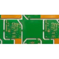 Wholesale 0.2 - 3.2mm 4 / 6 layer rigid flex pcb HDI Heavy copper 12 oz , FR-4 , CEM-3 base from china suppliers