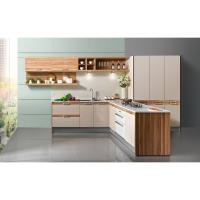 Wholesale Villar / Home / Hotel Modular Melamine Kitchen Cabinets Laminated Plywood Countertops from china suppliers