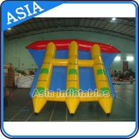 Wholesale Water Sports Inflatable Flying Fish Boat Towable 0.9mm PVC Tarpaulin Waterproof from china suppliers