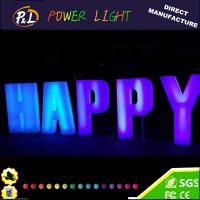 Wholesale 2016 Newest Illuminated Plastic Led Letters from china suppliers