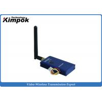 Wholesale Long Range FPV Video Transmitter , Wireless Video Sender with 2000m Distance from china suppliers