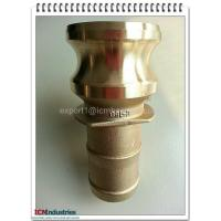 Wholesale Brass connect Kamlok quick Coupling part E from china suppliers