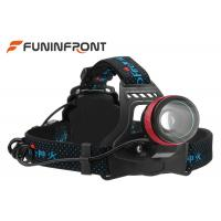 Wholesale Adjustable CREE XM-L T6 LED Headlamp Zoomable Focus with 3 Light Modes from china suppliers