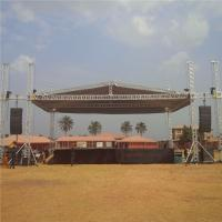 Wholesale Concert 6082 - T6 Aluminium Roof Trusses For Outdoor Event Stage Custom Size from china suppliers