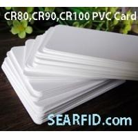 Wholesale CR80 PVC Card, CR90 PVC Card, CR100 PVC Card, used for Card Printer, Encapsulate RFID Card from china suppliers