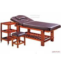 Wholesale ASF-07-051 2016 Factory Customize Durable Wooden Portable Folding Massage Bed from china suppliers