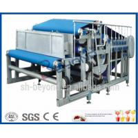 Wholesale Belt Type Fruit Squeezing Machine , Pineapple / Apple / Orange Juice Squeezer from china suppliers