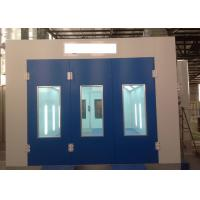 Wholesale Precision Diesel Burner Heated Paint Booth , Drying Oven Spray Booth For Woodworking from china suppliers