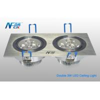 Wholesale 500lm LED Indoor Ceiling Lights 7000K , 6w LED Recessed Ceiling Lights Fixtures from china suppliers
